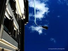 Jump (Ecinquantotto ( + 1.450.000 views !!! GRAZIE) Tags: architettura architecture abstract barcelona barcellona colors colori clouds dreams diagonale diagonal españa finestre geometrie geometric jump nuvole ombre spagna spain