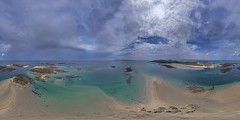 Humps 360 (Ningaloo.) Tags: aerial herm island humps spring low tide dreamer