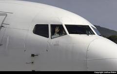 Aviolet Boeing 737-3H9 YU-ANI @ Skiathos Airport (LGSK/JSI) (Joshua_Risker) Tags: skiathos airport lgsk jsi greece aviolet air serbia airserbia boeing 737 737300 7373h9 belgrade yuani