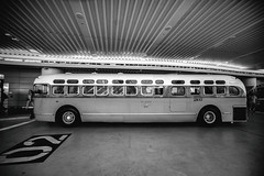 Transbay Terminal Opening Day (Thomas Hawk) Tags: america bayarea california sf sfbayarea salesforcetransitcenter sanfrancisco transbayterminal transbayterminalopeningday transbaytransitcenter us usa unitedstates unitedstatesofamerica westcoast bus bw transbay terminal opening day fav10 fav25