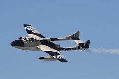 De Havilland DH-115 Vampire (Spolar Aviation Photography) Tags: de havilland dh115 vampire dehavilland n23105