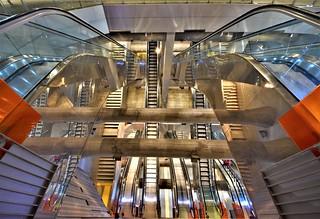 Garibaldi Metro Station - Naples - ITALY
