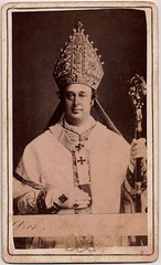 Archbishop (Boobook48) Tags: foundphoto archbishop cdv cartesdevisite church christianity glove liturgicaldress mitre crozier ring staff cross