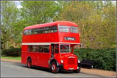 Northampton Transport 267 (Lotsapix) Tags: northampton northamptonshire transport buses bus daimler red rally preserved restored jvv267g roe