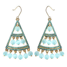 JASSY® Bohemian 18K Gold Plated Sky Blue Opal Earrings Luxury Fine Jewelry Clothing Accessories (1165008) #Banggood (SuperDeals.BG) Tags: superdeals banggood jewelry watch jassy® bohemian 18k gold plated sky blue opal earrings luxury fine clothing accessories 1165008