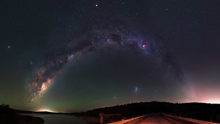 Milky Way over South Dandalup Dam, Western Australia