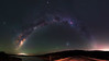 Milky Way over South Dandalup Dam, Western Australia (inefekt69) Tags: south dandalup dam westernaustralia australia great rift panorama stitched ms ice landscape wide astrophotography astronomy stars galaxy milkyway galactic core space road large magellanic cloud small clouds night nightphotography carina nebula nikon 50mm hoya red intensifier d5500 dslr longexposure perth southern southernhemisphere cosmos cosmology outdoor sky reservoir catchment water msice ioptron skytracker tracked didymium christmascreek lakebanksiadale explore explored
