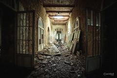 Lunatic asylum (slawomirsobczak) Tags: urbex urbanexploration abandoned lunatic asylum hospital italy
