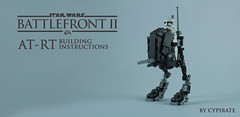 Lego AT-RT Tutorial 1/8 – Front page (cypiratemocs) Tags: lego atrt rt tutorial tuto building instructions star wars battlefront clone