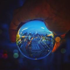 Holding Darling Harbour #Lensball (alexkess) Tags: instagram ifttt