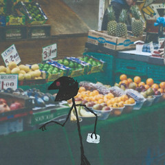 Market Stall (LittleFears) Tags: fiction flashfiction writing shortstory humour humor funny art illustration doodle