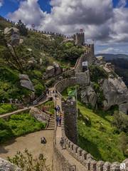 Castillos de los moros (JoseQ.) Tags: castillo lisboa sintra portugal muralla construccion parque