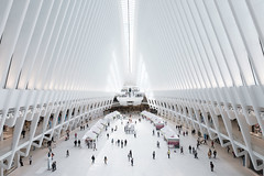 Oculus (GeraldGrote) Tags: usa manhattan mall oculus transportation terminal newyork wtc city hub station architecture us