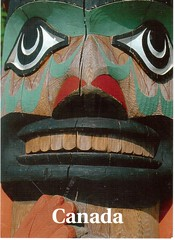 Postcrossing CA-833532 (booboo_babies) Tags: nativeamerican firstnations art native canada westerncanada postcrossing