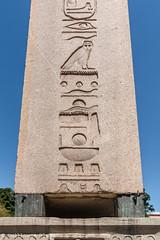 Istanbul - Obélisque de Théodose (Darth Jipsu) Tags: ottoman unesco hippodrome obelisk hieroglyphs byzantine theodosius landmark egypt egyptian constantinople istanbul turkey europe turquie tr