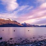 Sunset in Queenstown New Zealand thumbnail