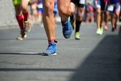 marathon running (mghresearchinstitute) Tags: marathon running race foot road sport jogging crowd blurred street strength motion human summer track endurance competitive people leg lifestyle exercising healthy athlete speed muscular wellbeing competition build action