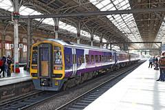 158815 Class 158/0 DMU (Roger Wasley) Tags: 158815 class158 dmu northern preston manchester airport station trains railways lancashire