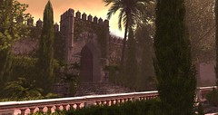 La Reconquista (viktoriaelizabetha) Tags: renaissance baroque garden outside park scene scenery secondlife second life spain historical medieval fantasy