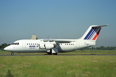 F-GMMP British Aerospace 146-200QC Air Jet/Air France (pslg05896) Tags: fgmmp bae146 airjet airfrance cdg lfpg paris roissy