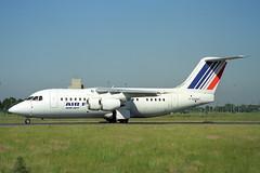 F-GMMP British Aerospace 146-200QC Air Jet/Air France (pslg05896) Tags: fgmmp bae146 airjet airfrance cdg lfpg paris roissy