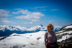 Lori and Black Tusk from Whistler.