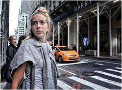 Hello City (Steve Lundqvist) Tags: new york usa states united america manhattan stati uniti travel trip viaggio girl ragazza model urban city urbanscape portrait ny nyc persone ritratto fashion moda mood attractive beauty streetphotography