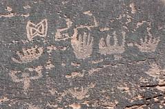 Petroglyphs / Sand Island Site (Ron Wolf) Tags: anthropology archaeology bearsearsnationalmonument nationalpark nativeamerican sandisland anthromorph anthropomorph design geometric hand petroglyph rockart utah