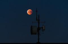 Mooonnn (KariFinland) Tags: sony a7r2 70200mm minimalism moon antenna night