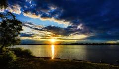 100A0534 (CdnAvSpotter) Tags: petrie island ottawa river sunset big sky clouds storms