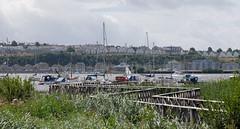 Cardiff bay (fred.weg) Tags: cardiff bay port ponton bateau boat voiliers pontoon sailingship