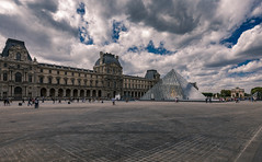 Louvre (andreasmally) Tags: louvre museum paris pyramiden pyramids france frankreich