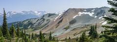 Flute Bowl, Whistler Mountain, BC, Canada (stevecarney) Tags: alpine mountain whistler blackcomb volcano lava magama red pyrite quartz rust piccolo cretaceous