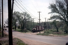 KCPS 2 85th & McGee 5-7-57 (jsmatlak) Tags: streetcar trolley tram electric railway kansas city