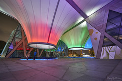 _DSC1600 (Hong Yu Wang) Tags: taiwan a73 1224g 大東文化藝術中心 kaohsiung night architecture