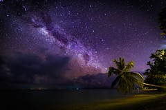 To the Stars and Beyond (icemanphotos) Tags: night stars milkyway beach landscape longexposure relax canon