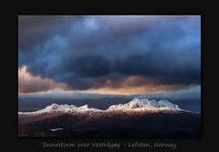 Snowstorm over Vestvågøy (MC-80) Tags: snowstorm over vestvågøy lofoten norway