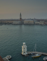 Venezia (y.mihov, Big Thanks for more than a million views) Tags: venice venezia italy islands above high sea skyes sigma sightseeing sonyalpha stone sony sunset building buildings boat lighthouse san marco historical history ancient architecture art europe europa evening
