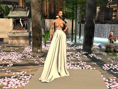 Dead Dollz Nemesis Gown - White - 3 (Unvarnished Fashion) Tags: secondlife collabor88 nemesisgown gown formal model elegant beautiful exclusive deaddollz