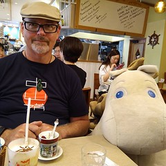 I'm at a loss for words. Been a big Moomintroll fan since I was a nipper. Meeting him in person a real thrill. (Big Ted) Tags: ifttt instagram