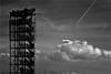 000479 (la_imagen) Tags: friedrichshafen moleturm sw bw blackandwhite siyahbeyaz heaven himmel gök gökyüzü cloud wolke bulut