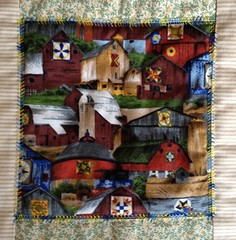 Barns   #MacroMonday #quilts #hmm (Mr. Happy Face - Peace :)) Tags: patricia bechthold quilts art2018 sewing hobbies barns