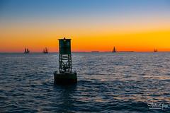 Key West Sunset Cruise (Andrea Garza ~) Tags: florida keywest sailboat cruise sunset catamaran ocean gulf gulfcoast sebago marker silhouette island paradise floridakeys boating