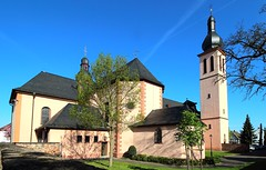 Klein-Krotzenburg Pfarrkirche Sankt Nikolaus (wernerfunk) Tags: kirche church hessen