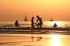 Bathing & sailing - Tel-Aviv beach - Follow me on Instagram:  @lior_leibler22 (Lior. L) Tags: bathingsailingtelavivbeach bathing sailing telaviv beach sailboat goldenhours golden silhouettes sailboats israel sea sky