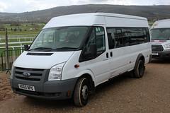 Paragon, Ferndown HD60 NPG, Ford Transit at Cheltenham racecourse (majorcatransport) Tags: dorsetbuses paragonferndown fordtransit ford cheltenham