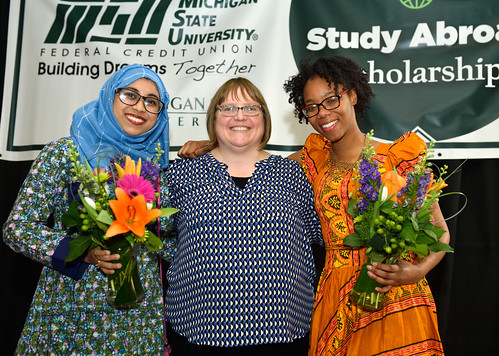 MSUFCU Study Abroad Scholarship Luncheon, March 2018