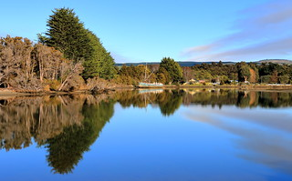 Serenity . Catlins Lake . Southland . NZ.