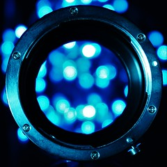 """Stargate"" - Macro Monday (ironicdream) Tags: hmm macromondays photographygear blue macro 7dwf sony a6000"