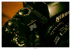 Nikon F4 (Carlos E Cortés Parra) Tags: macromondays photography gear macro analogic camera photographygear
